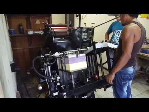 Minerva máquina numeradora