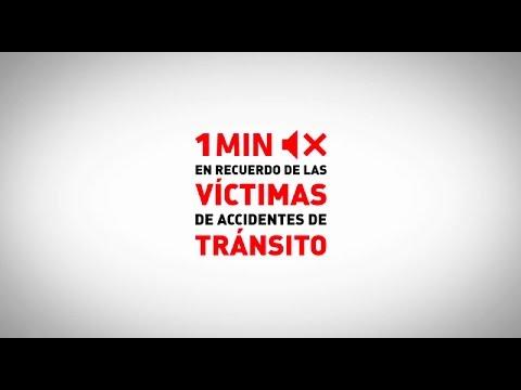 Un minuto de silencio para recordar a las víctimas de tráfico