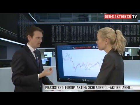Zertifikate Aktuell vom 10.02.2016: Öl- vs. Aktien-Index