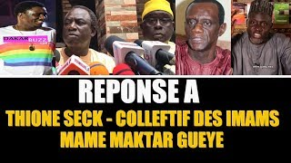 Affaire Wally Seck : Réponse à Thione Seck, Collectif des imams et Mame Makhtar Gueye