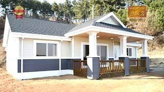 35평 목조주택 태안 내리 전원주택 2018 골드홈 입니다. 농가주택 스틸하우스