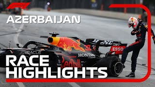 Race Highlights   2021 Azerbaijan Grand Prix