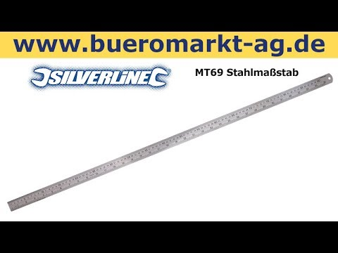 Silverline MT69 Stahlmaßstab