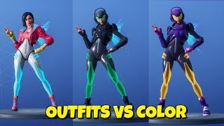 New Season 9 ROX OUTFIT VS COLORS & CHALLENGES In Fortnite