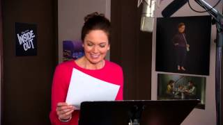 Pixars Inside Out: Diane Lane Mom Behind The Scenes Voice Recording