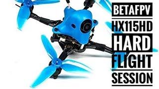 BetaFPV HX115 HD Just crashing arround … FPV Drone Fails :-)