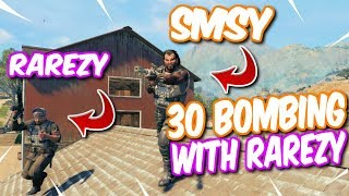 30 Bombing With Rarezy on U.S Ping! High Kill Cod Blackout Duo Win!