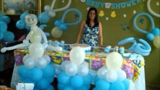 Decoracion Baby Shower - Baby Shower Balloon Decoration