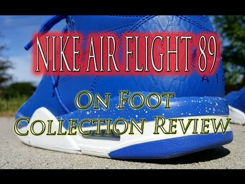 Nike Air Flight 89 On Foot Collection Review