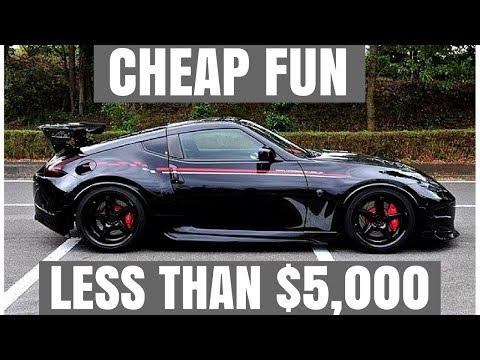 5 Cheap Fun Cars For Less Than $5,000