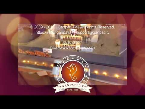 Tejas Chavan Home Ganpati Decoration Video