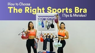 How to Choose the Right Sports Bra (Tips & Mistakes!) | Joanna Soh
