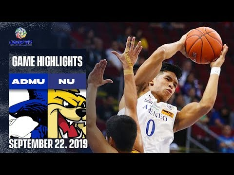 ADMU vs. NU - September 22, 2019 | Game Highlights | UAAP 82 MB