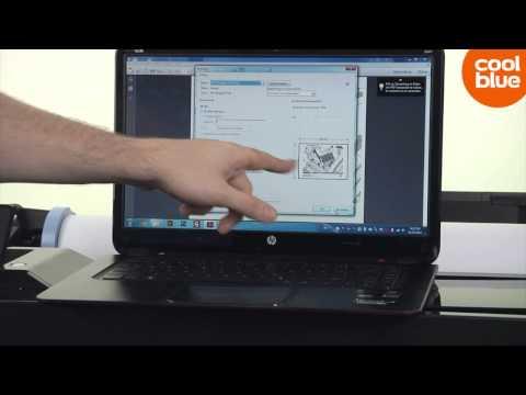HP Designjet T120 videoreview en unboxing (NL/BE)
