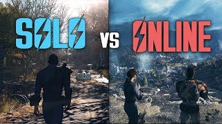 FALLOUT 76: Solo Play Vs Online Play - Which Is Better?