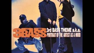 "3RD BASS ""3rd Bass Theme a.k.a. Portrait Of The Artist As A Hood (Remix)"""