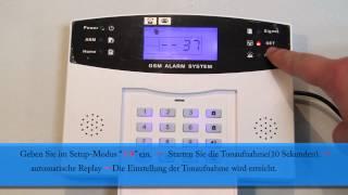 Alarmzentrale/Mainframe von Haus Funk Alarmanlage GSM Mit SMS/Telefon Funktion Sicherheit