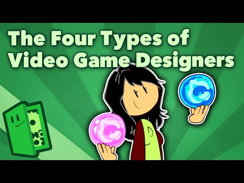 The Four Types of Video Game Designers - Game Design Specializations - Extra Credits