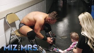 Miz wears bedazzled shoes into battle: Miz & Mrs., Aug. 20, 2019