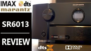 MARANTZ SR6013 Receiver Setup and Review   IMAX ENHANCED