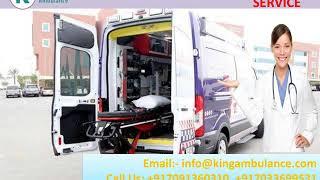 King ICU Facility Ambulance Service in Muzaffarpur and Gaya