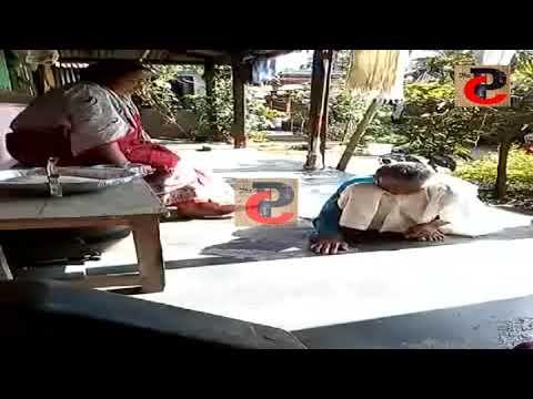 ছেলে এবং ছেলে বউ'এর বিরুদ্ধে বৃদ্ধা মাকে অত্যাচারের অভিযোগ