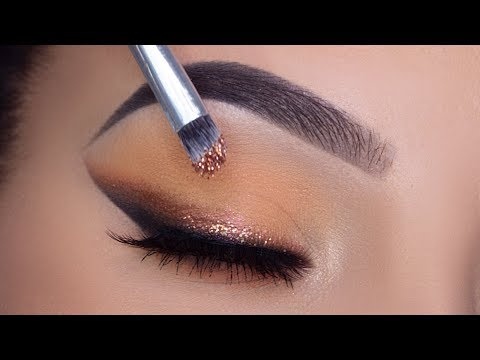 SOFT GLITTER Smoked Winged Liner Tutorial