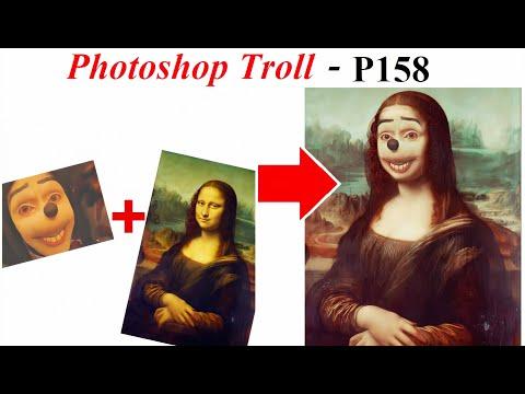 Ảnh Chế  Jonathan Galindo 💓 Mona Lisa Photoshop Troll (P 158), James Fridman