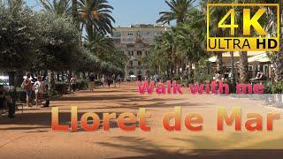 Walk With Me In Lloret De Mar, Spain (2019)