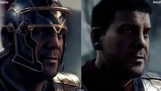 Ryse Son of Rome E3 2013 vs Retail Xbox One Graphics Comparison