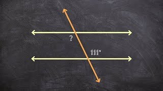 Using Alternate Interior Angles To Find The Missing Measure Of An Angle