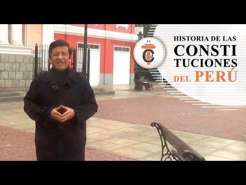 HISTORIA DE LAS CONSTITUCIONES DEL PERÚ (PARTE I) Tribuna Constitucional 72 - Guido Aguila Grados