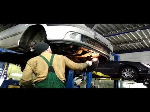 Hyundai Matrix замена цепи и ремня ГРМ. Часть 1.