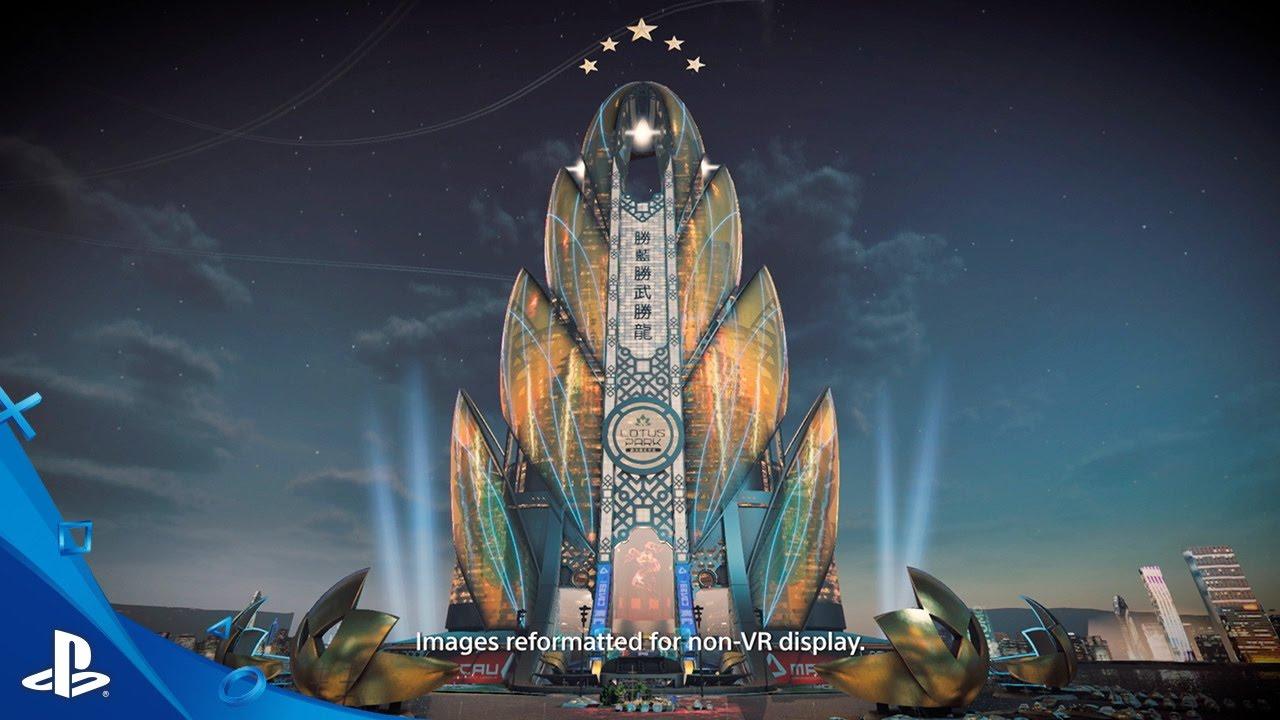 Globalizando: Los estadios de Rigs Mechanized Combat League