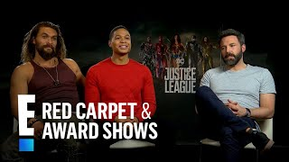 "JUSTICE LEAGUE | E! News : ""Justice League"" Cast Dish on Kids & Costumes"