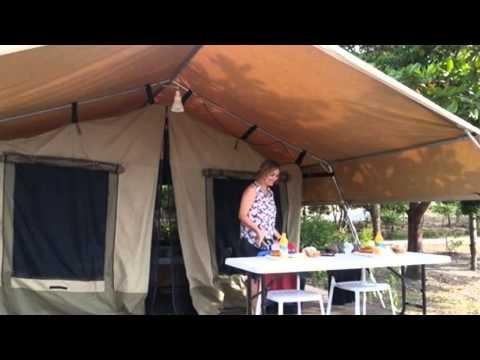 花蓮逍遙山莊的豪華營帳,讓想入門的人輕鬆體驗露營的樂趣!