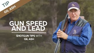 Gun Speed and Target Lead | Shotgun Tips with Gil Ash