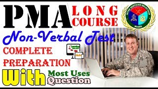 ISSB Intelligence Test - Non Verbal Intelligence Test Of PMA Long Course - Preparation Online