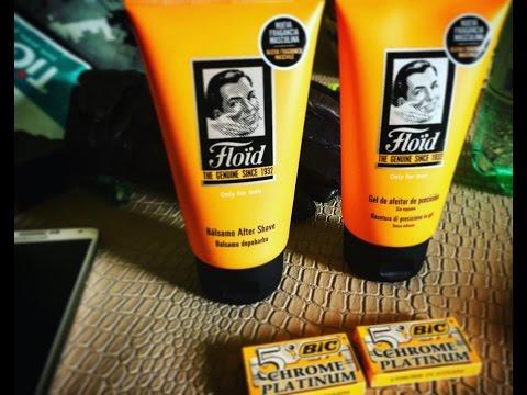 Rasatura tradizionale - Gel Floid  di precisione - balsamo Dopo barba Floid - Muhle R41
