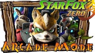 Star Fox Zero   Arcade Mode (Full Walkthrough)