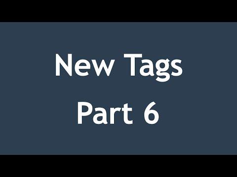 تعلم HTML5 القائمة #1 الفديو #13