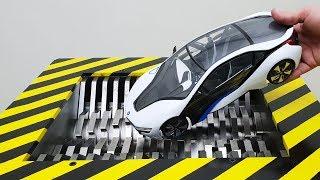 EXPERIMENT Shredding BMW i8
