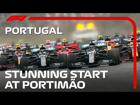 スタート直後が一番白熱するF1スタート動画。第12戦ポルトガルGP(ポルトガル)
