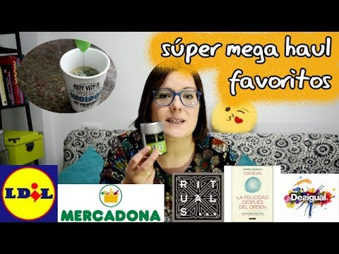 Haul favoritos lidl mercadona desigual amazon | 🍊Unamirinda