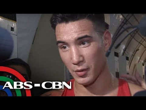 [ABS-CBN]  SEA Games: John Marvin bigong makausad sa quarterfinals | TV Patrol