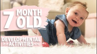 HOW TO PLAY WITH YOUR 7 MONTH OLD BABY   DEVELOPMENTAL MILESTONES   ACTIVITIES FOR BABIES   CWTC