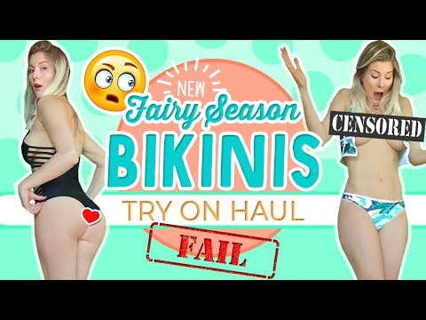 BIKINI TRY ON HAUL | NEW! Fairy Season Swimsuits
