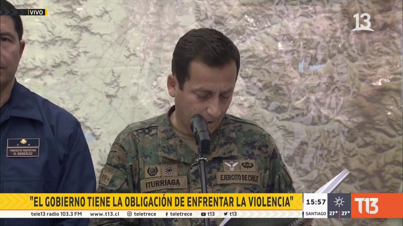DECRETAN TOQUE DE QUEDA EN LA REGIÓN METROPOLITANA DE CHILE DESDE LAS 20:00 HORAS DE ESTE LUNES