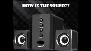 Sada Mini USB Speaker Short Review & Sound Test