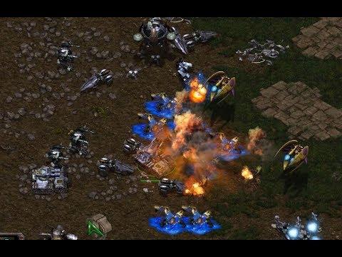 Bisu (P) v Sharp (T) on Fighting Spirit - StarCraft - Brood War REMASTERED